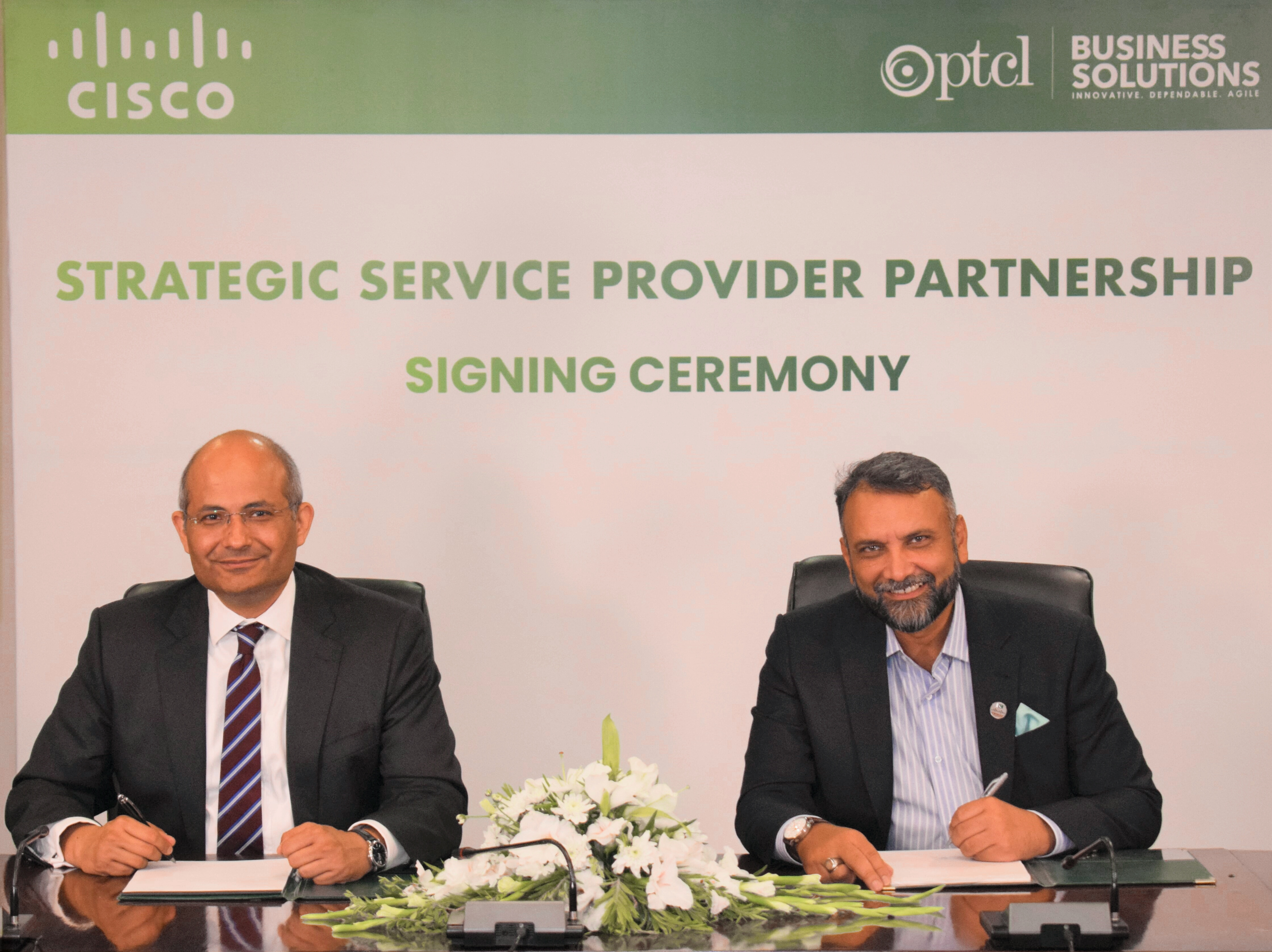 PTCL and Cisco sign strategic service provider partnership agreement